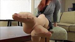 sexy nylon feet comp