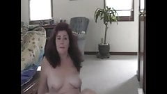 Wife showing her body