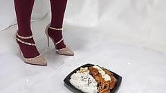 High heels foodcrush