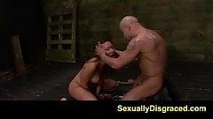 FetishNetwork Mena Li sybian bondage sex