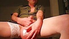 sperm dripping