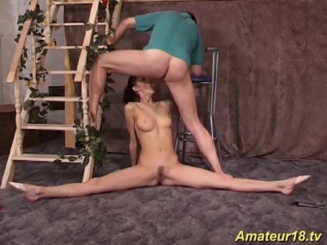 Порно гимнастка олеся как зовут 5