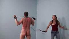 Epic whipping by mistress Moll