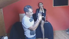 Foot Worship Lesson