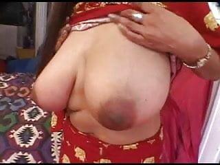 Indian girl having fun with two cocks !