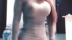 Mini skirt Hot latina twerking strip