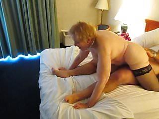 Aunt Sue reverse cowgirl