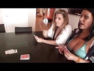 Best online strip poker - Big boob strip poker ffm threesome