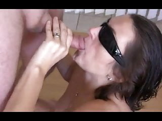 My favorite swinger wife sucking off her friend