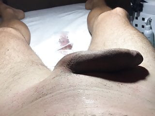 Brazilian Waxingof a Hung MalePart 1 Cleaning the Cock a