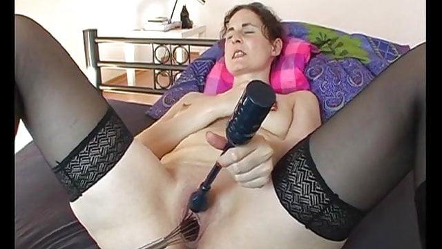 Sabine 3 Masturbating with Kitchen Whisk