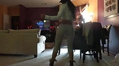 FREAKY DOMINICAN DANCING NAKED