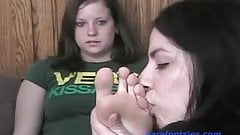 Holly's First Foot Worship (Part 1)