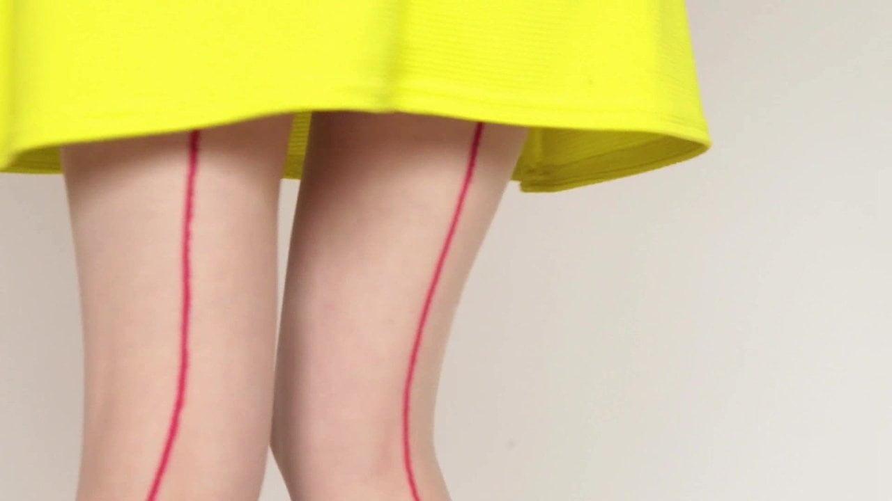 Mia - Valentine - in Yellow Dress Fun