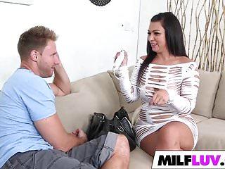 Curvy MILF Sasha Sweet Gets Banged