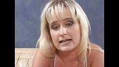 Pretty blond feminist STFU by a hard dick..lol