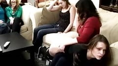 SPanked in front of her freinds vintage