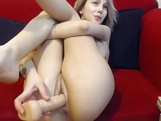 romanian cam-slut vaginal pleasure