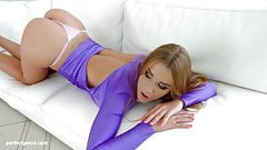 Alexis Crystal in messy creampie scene by All Internal