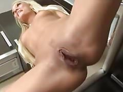 Amateur - Several Sessions - Hot Blond Czech Peeing's Thumb