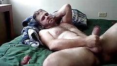 Str8 guy bedroom wank