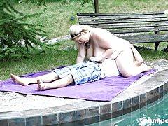 Plumperd.com Massive blonde face-sits her lover
