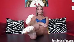 Bratty hot roommate foot fetish humiliation