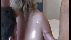 Mature British Blonde Group Fuck n Suck
