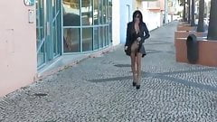 Exhibition Wife on street