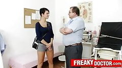 Czech hottie Nicoletta Emilia big natural tits check-up