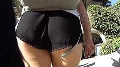 Sexy college loose blacks shorts