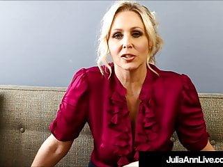 Dirty Talkin Milf Teacher Ms Julia Ann Teaches Masturbation
