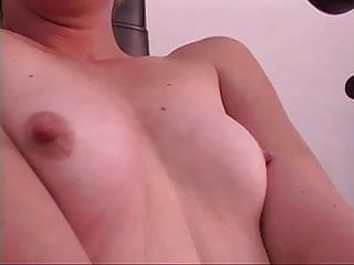 Sexy blond with small tits toy fucking het tight cunt