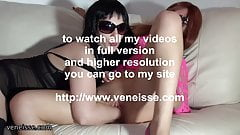 veneisse lesbian double and triple fisting big toys gape