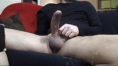 big cum in live
