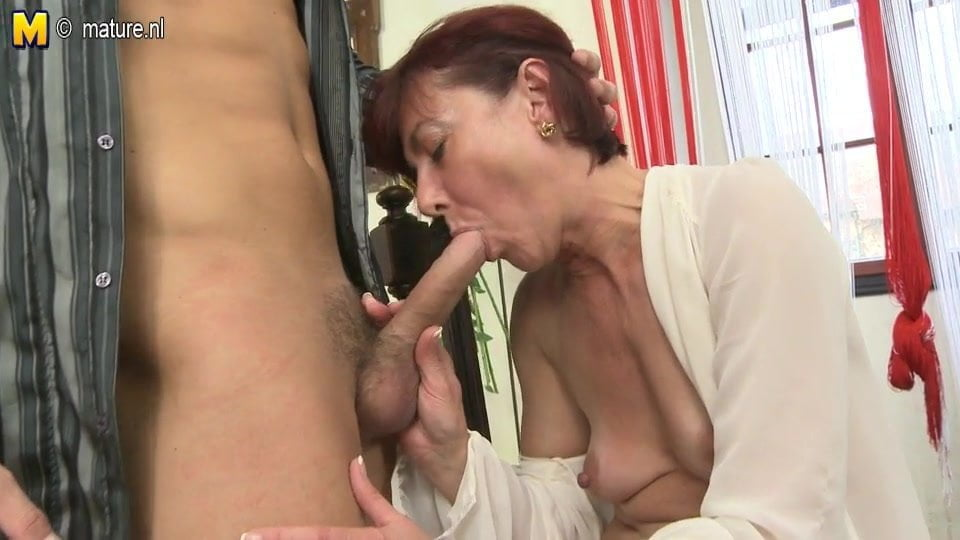 Two hot milfs sharing the cock