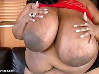 Black BBW Cotton Candi Fucks Her 56m Tits