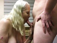 Penny Sneddon sucking cock 7-3-2018