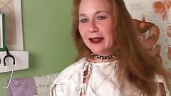Super sexy old spunker imagines you are fucking her pussy