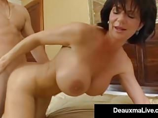 Preview 3 of Stunning Fit Milf Deauxma Gets Ass Banged By Hard Young Stud
