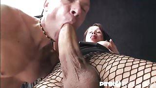 Mireja monster cock fuck and cum!