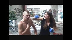 Cindy's Extreme Beatdown of Charly Stilletto -