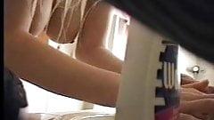 True hidden cam caught my girlfriend in bathroom