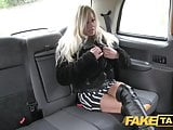 Fake Taxi Pornstar makes debut in London taxi