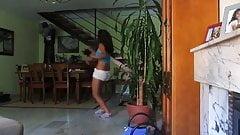 01 Silvia Gonzalez perreo chava reggaeton BOOTY  Ass Shaking