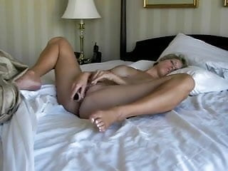 Just another slut masturbating with her dildo!