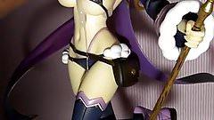 figure bukkake sof(Bikini Warriors Mage)Part3