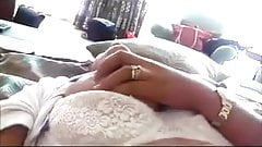 Pinoy wife playing with her tits makati