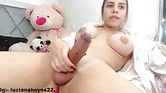 Sexy big cock latina strokes