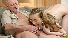 DADDY4K. Dad talks a lot with Jessi then seduces her